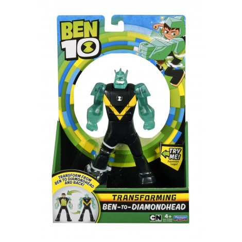 Imagine 2BEN 10 FIGURINE TRANSFORMABILE DELUXE – Cap de Diamant