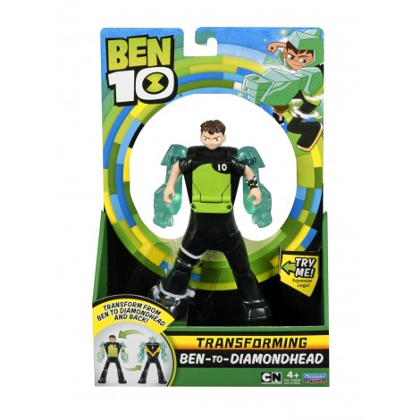 Imagine 1BEN 10 FIGURINE TRANSFORMABILE DELUXE – Cap de Diamant