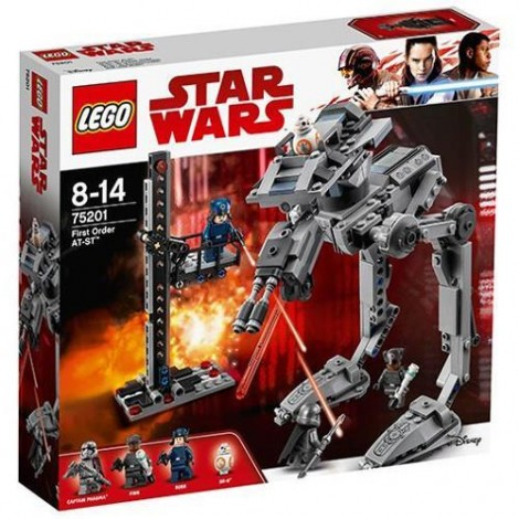 Imagine 1LEGO Star Wars First Order AT-ST