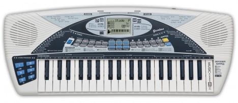 Imagine 1Orga digitala DJ cu 40 clape si amplificator