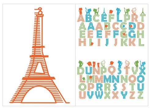 Sticker de Perete Paris