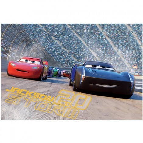 Imagine 2Puzzle 2 in 1 - Cars 3 (66 piese)