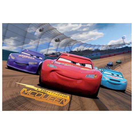 Imagine 3Puzzle 2 in 1 - Cars 3 (66 piese)