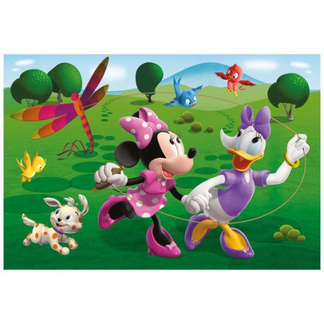 Imagine 3Puzzle 2 in 1 - Prietena mea Minnie (66 piese)
