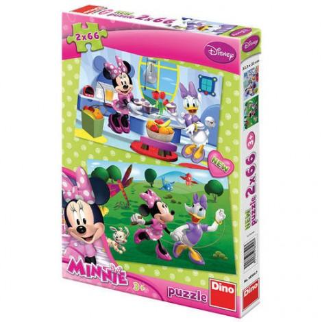 Imagine 1Puzzle 2 in 1 - Prietena mea Minnie (66 piese)