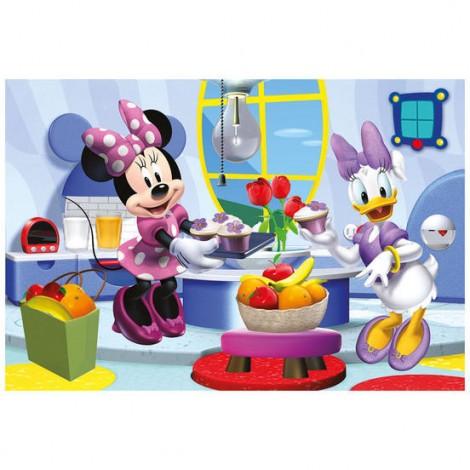 Imagine 2Puzzle 2 in 1 - Prietena mea Minnie (66 piese)