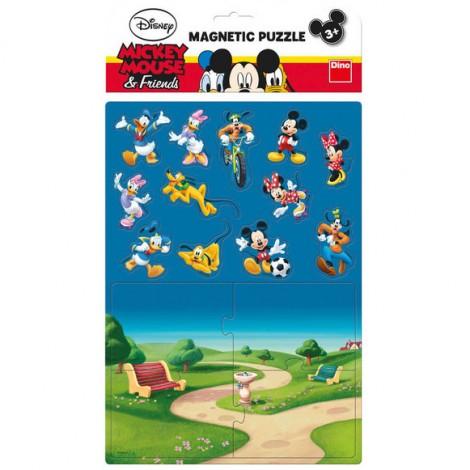 Imagine 1Puzzle magnetic - Mickey si prietenii