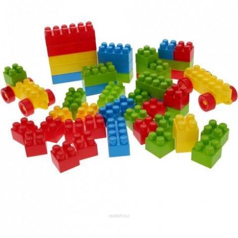 Imagine 2Cuburi colorate de construit - 35 piese