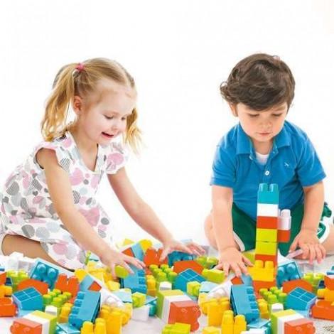 Imagine 3Cuburi colorate de construit - 35 piese