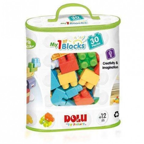 Imagine 1Primele cuburi de construit - 30 piese