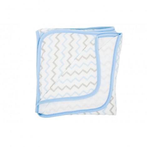 Imagine 1Paturica Muselina 120x120 cm - Blue