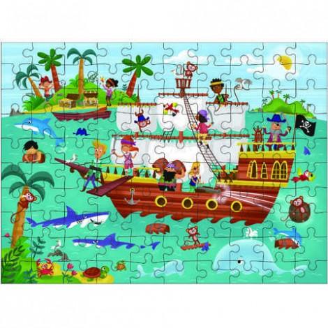 Imagine 2Puzzle Calatoria Piratilor 100 piese