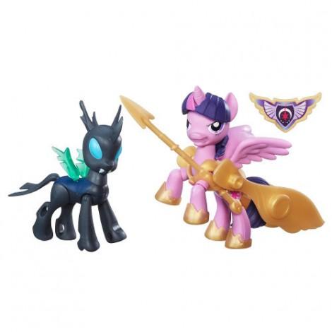 Imagine 2My Little Pony - Twilight Sparkle si Changeling