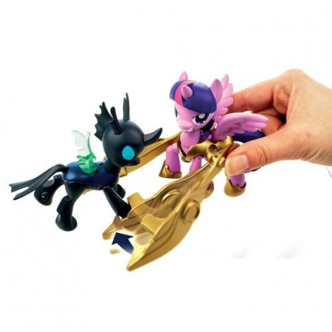 Imagine 4My Little Pony - Twilight Sparkle si Changeling