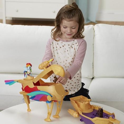 Imagine 6Set My Little Pony Corabia Aerului Swashbuckler