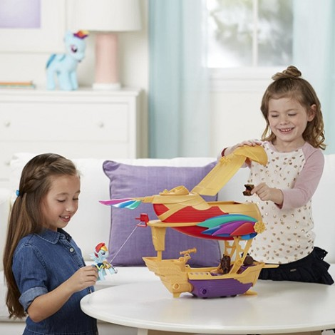 Imagine 4Set My Little Pony Corabia Aerului Swashbuckler