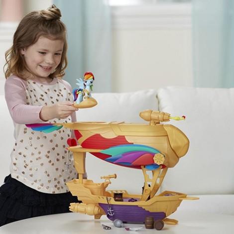 Imagine 7Set My Little Pony Corabia Aerului Swashbuckler