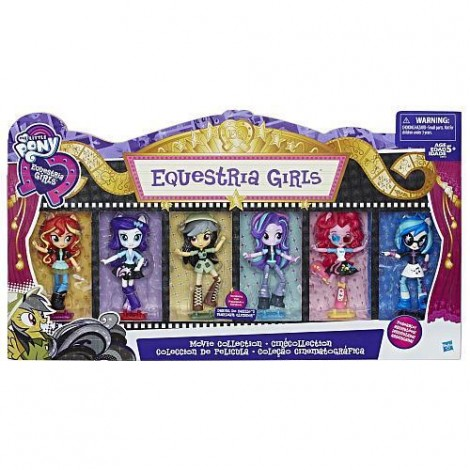 Imagine 1Set My Little Pony Equestria Girls Minis Movie Collection