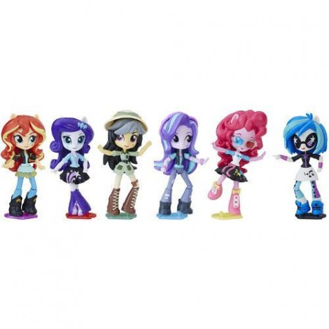 Imagine 2Set My Little Pony Equestria Girls Minis Movie Collection