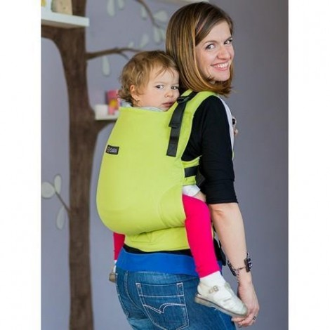 Imagine 2Marsupiu Toddler Wrap Conversion Organic Lime