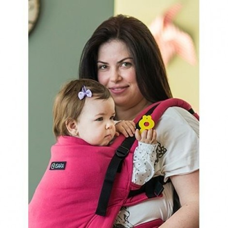 Imagine 2Marsupiu Toddler Wrap Conversion Organic Raspberry