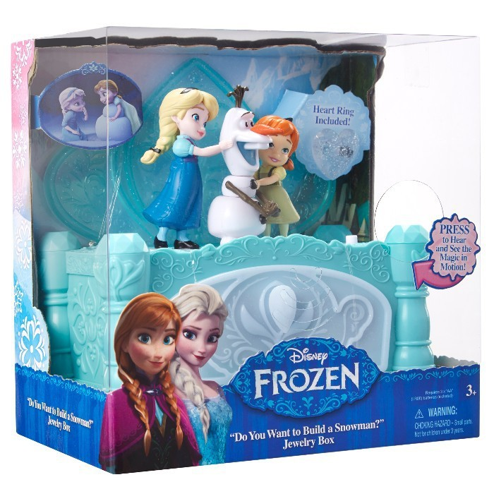 Cutie muzicala de bijuterii Frozen