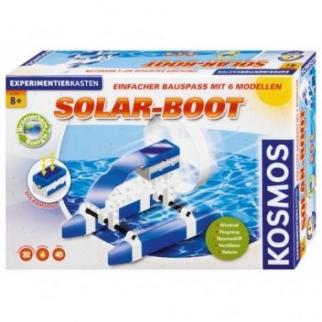 Imagine 1Experimente pentru acasa - Barca solara