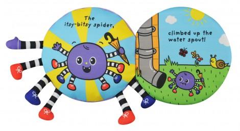 Imagine 1Carticica textila - Itsy Bitsy Spider