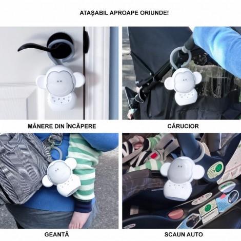 Imagine 3Linistitor portabil Safe & Sound