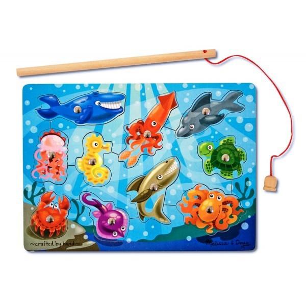 Imagine indisponibila pentru Joc de pescuit magnetic - Animale marine