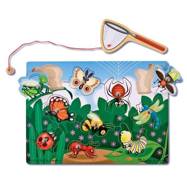 Imagine indisponibila pentru Joc din lemn magnetic - Prinde insectele