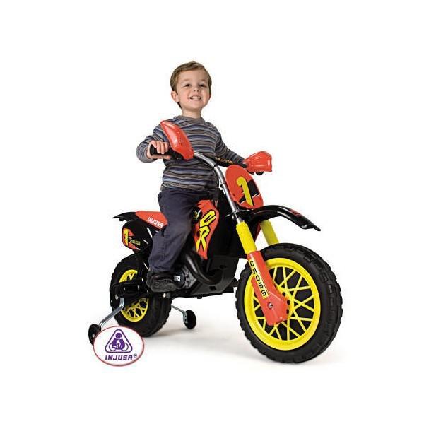 Motocicleta electrica Injusa MotoCross CR 6V