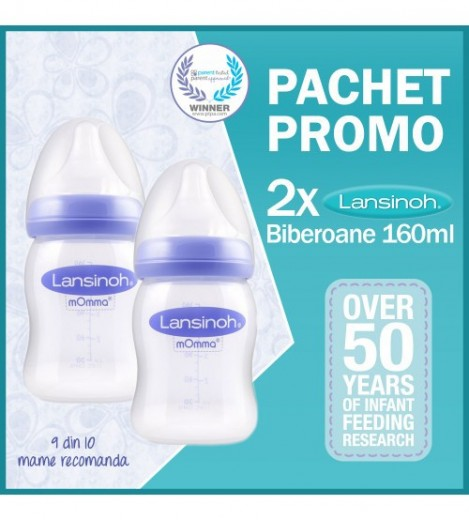Imagine 1Pachet promo biberon 160 ml x 2 buc